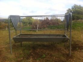 hay rack for horses or cattle portable double sided