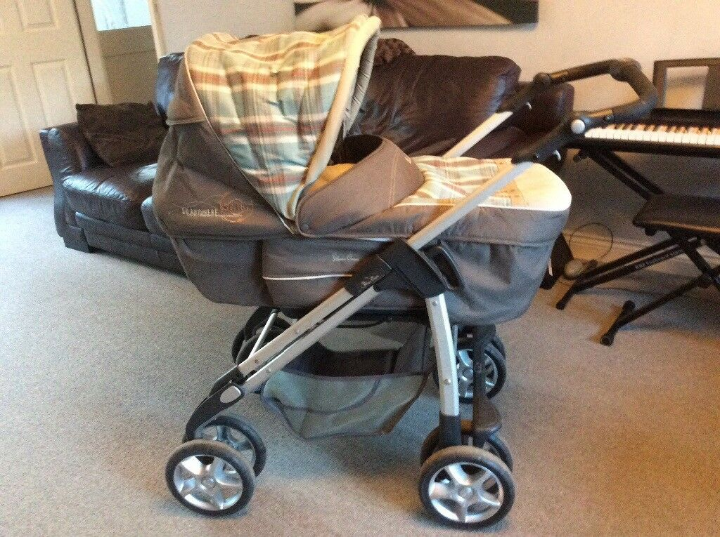 Silver Cross Deluxe Sleepover Travel System