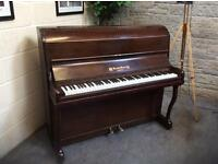 Burdett, London overstrung upright piano - CAN DELIVER