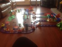 Large collection of Happy street track and toys to suit kids age 2 -6