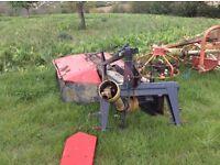 Vicon hay mower