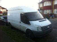 Ford Transit 2007 LWB high roof 140BHP 6 speed 1 years MOT
