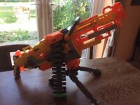 This is for a selection of Nerf guns with some bullets