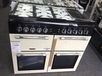 Leisure chefmaster 100cm range with glass lid. £850 RRP £1000 new/graded 12 month Gtee