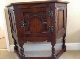 Old charm hall table