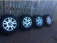 """17"""" alloy wheels and tyres Freelander2"""