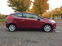 FORD FIESTA 1.25 ZETEC(ONE OWNER, ONLY 25000 MILES, COMPREHENSIVE HISTORY, LONG MOT, STUNNING)