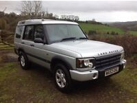 Land Rover Discovery TD5 GS 2002 - manual - Full service history - 110k miles