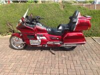 1997 Honda Goldwing 1500SE. 19000 miles. 3 Owners from new. Colour Candy Red