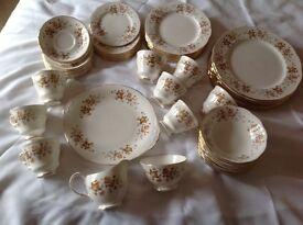 Bone China Dinner Service & Tea Set