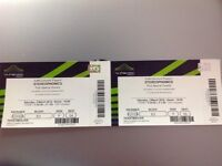 Stereophonics tickets, seated Wembley, Saturday 03rd March