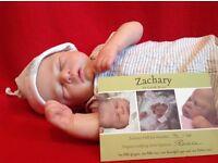"Reborn Doll ""Zachary"" by Cassie Brace"