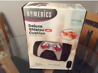 Homedics delux shiatsu cushion