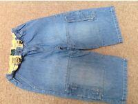 Mini Boden jeans shorts age 9-10