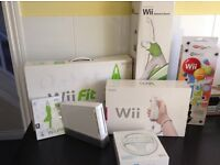 Nintendo wii bundle and games