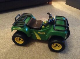 john deer ride on ATV