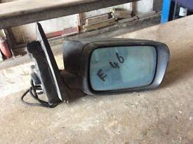 BMW E46 o/s door mirror