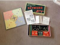 1950s Waddington Keyword game