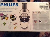 Philips juicer. New. Unwanted present