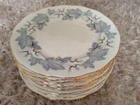 12 Royal Albert bone china dinner plates