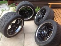 Alloy wheels 18inch with tyres (lexus,honda and other)