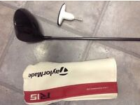 Taylor made R 15 driver regular speeder shaft. In great condition loft 10.5 to 12