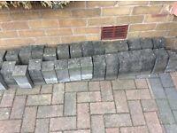 90 Marshalls 'K L' concrete kerb stones
