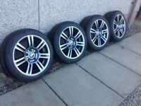 BMW M sport staggered wheels for sale .