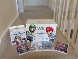New Nintendo Mariokart plus Mario kart games plus Accessories in box with instructions