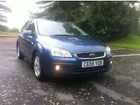 Ford focus 1.6 tdci ghia diesel 5 door new mot excellent condition and mpg