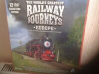 Cd collection of railway journeys