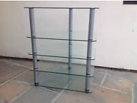Glass music stand