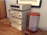 Old Technics Hi Fi stacking system midi