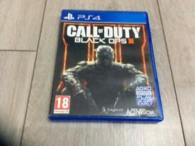 PS4 Game Call of Duty /Black ops 3