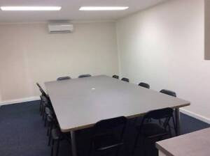 Meeting room table seats up to 14 people Banyo Brisbane North East Preview