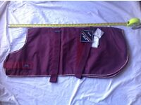 New,Top Quality waterproof, breathable dog coat in Maroon