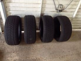 Set of Winter Tyres almost brand new