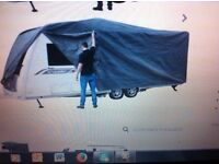 Caravan cover.