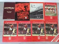 Collection of Arsenal programmes