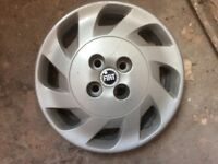 Wheel trims for fiat car