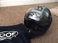 Men's motorcycle crash helmet