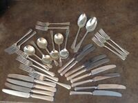 Arthur Price Silver Plated Cutlery (2) 31 pieces