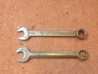 Whitworth combination spanners