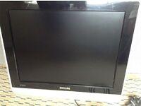 "20"" Philips flat screen TV"