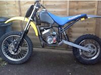 Husky boy 50 big wheel frame spares or repair/ breaking, lem, malaguti, dbm, moto Roma Ktm morini