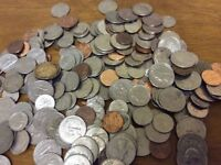 Buying leftover, unwanted US coins American old or new, even dirty USA coins from the loft