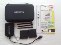 Nintendo DS black accessory bundle