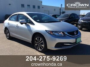 2015 HONDA CIVIC - ONE OWNER, LOCAL TRADE, SAVE TONS FROM NEW!