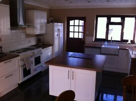Furnished Single Room to Rent, 2 bathrooms, large kitchen diner, large garden, off road parking