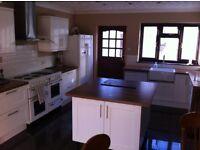 Furnished Single Room to Rent, 2 bathrooms, large kitchen diner, large garden, off road parking